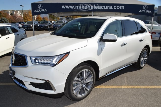 New 2018 Acura Mdx Awd Tech