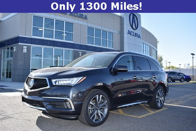 Certified Pre-Owned 2019 Acura MDX SH-AWD with Advance Package 4D Sport  Utility