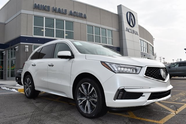 new 2019 acura mdx sh awd with advance package 4d sport utility in rh mikehaleacura com