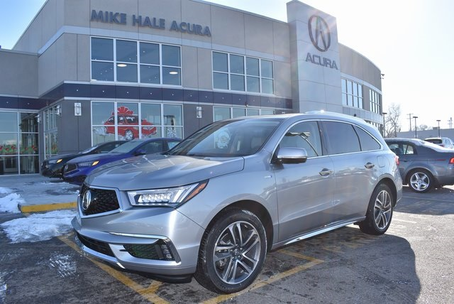 New 2019 Acura Mdx Sport Hybrid Sh Awd With Advance Package