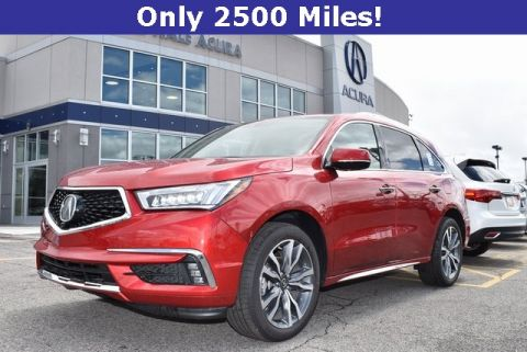 Certified Pre-Owned 2019 Acura MDX SH-AWD with Advance Package